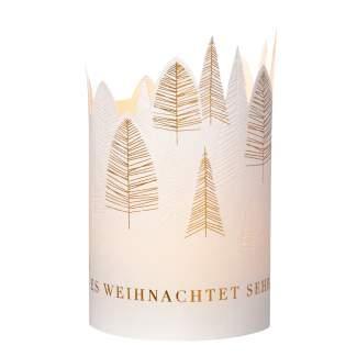 """Weihnachts Windlichtkarte """"Es weihnachtet seht"""""""