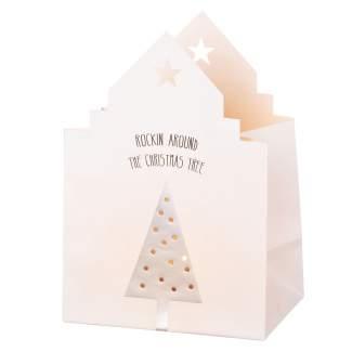"""Weihnachts Lichthauskarte """"Tannenbaum"""""""