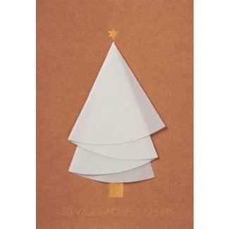 """Weihnachtsbaum Karte """"Es weihnachtet sehr"""""""