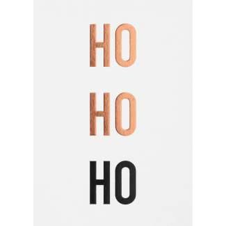 """Winterzeit Postkarte """"hello Rudolph"""""""