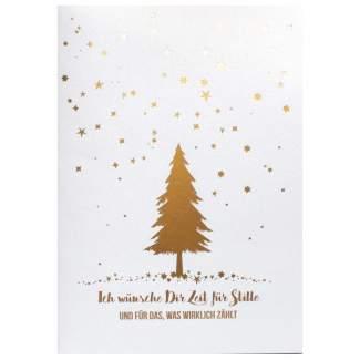 """Weihnachts Poesiekarte """"Ich wünsche Dir..."""""""