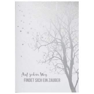 """Weihnachts Poesiekarte """"Auf jedem Weg..."""""""