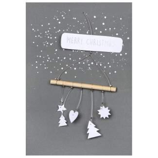 "Poesiezweig ""Merry Christmas"""