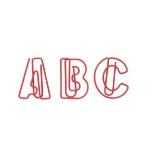 """Paper & Poetry. ABC Büroklammern """"rot"""""""