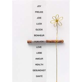 "Elemente Karte ""Joy"""