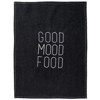 "Geschirrtuch ""Good Mood Food"""