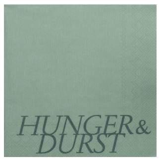 "Servietten ""Hunger & Durst"""