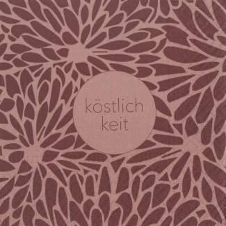 """Cocktail Serviette """"Köstlichkeit"""""""