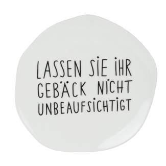 """Mix & Match Teller klein """"Ihr Gebäck"""""""