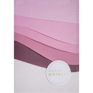 "Farbenkarte ""Happy Birthday"""