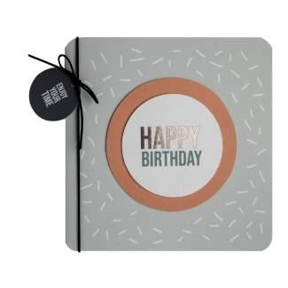 "Mittelpunktkarte ""Happy Birthday"""
