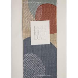 """Stickereikarte """"Happy Happy Birthday"""""""