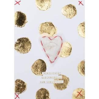 """Herzensangelegenheiten Karte """"Glückwunsch zum Geburtstag"""""""