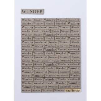 """Wörterkarte """"Wunder"""""""