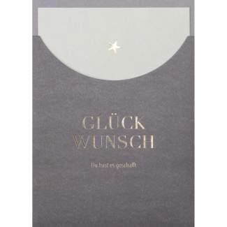 """Schuberkarte """"Glückwunsch"""""""