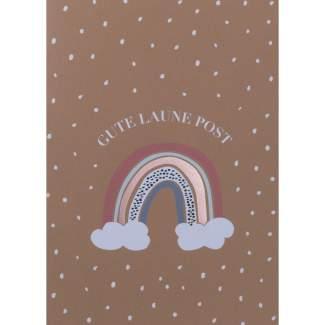 "Regenbogenkarte ""Gute Laune Post"""
