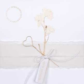 """XL Hochzeitskarte """"Seite an Seite"""""""