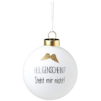 """Lustige Kugel """"Heiligenschein"""""""