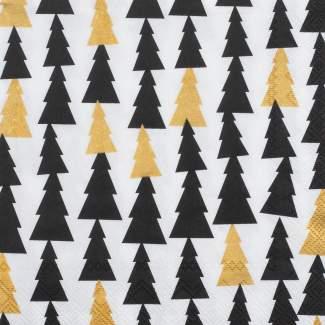 """Weihnachtsservietten klein """"Tannenwäldchen"""""""