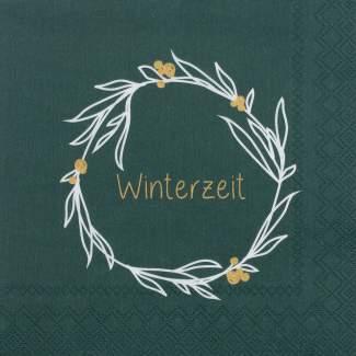 """Weihnachtsservietten klein """"Winterzeit"""""""