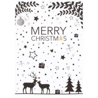 "Süße Weihnachtspostkarte ""Merry Christmas"""
