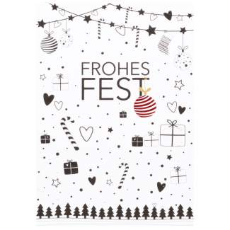 """Süße Weihnachtspostkarte """"Frohes Fest"""""""