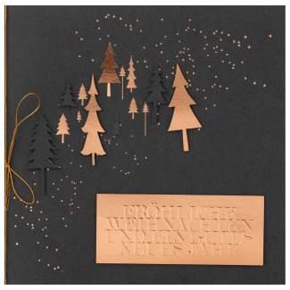"""Weihnachtsfestkarte """"Frühliche Weihnachten"""""""