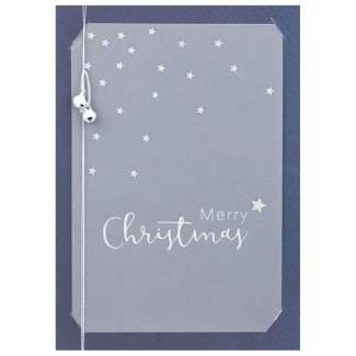 """Glockenkarte """"Merry Christmas"""""""