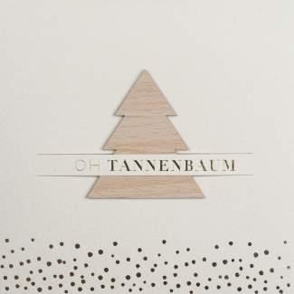 "XL Steckkarte ""Oh Tannenbaum"""