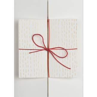 """Weihnachtszeitkarte """"Geschenk"""""""
