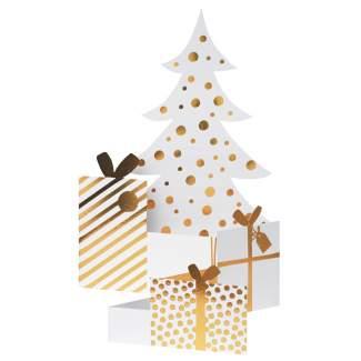 """Weihnachtsfaltkarte """"Tannenbaum"""""""
