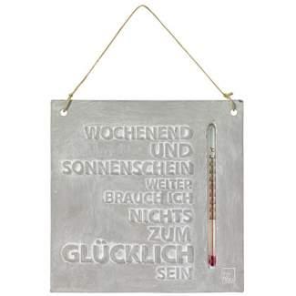 """Thermometer """"Wochenend und Sonnenschein"""""""