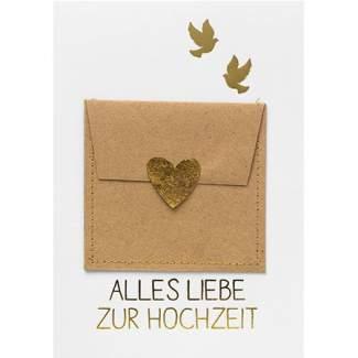 """Gutscheinkarte """"Alles Liebe zur Hochzeit"""""""