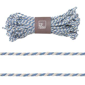 "Geschenk- Kordel ""Blau/Weiß"""