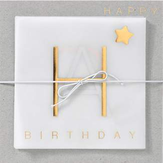 "Leporello Karte ""Happy Birthday"""
