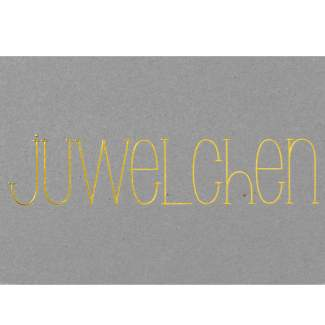 "Postkarte ""Juwelchen"""