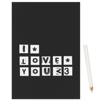 "Magnetkarte ""I Love You"""