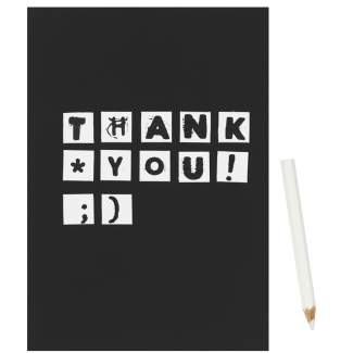 "Magnetkarte ""Thank you"""