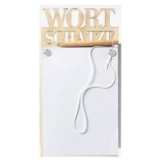 """Wandpoesie. Notizen """"Wortschätze"""""""