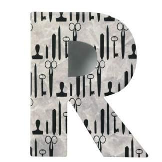 "Paper & Poetry. ABC Schachtel ""Buchstabe R"""