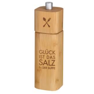 """Poesie et Table.Salzm�hle """"Gl�ck ist das Salz in der Suppe"""""""