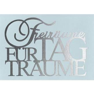 "Postkarte ""Freiräume..."""
