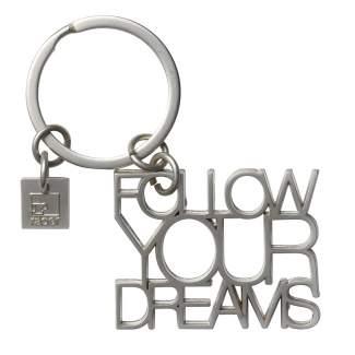 """Poesie Schlüsselanhänger """"Follow your dreams"""""""