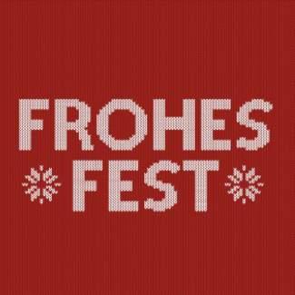 """Weihnachtsserviette """"Frohes Fest"""""""