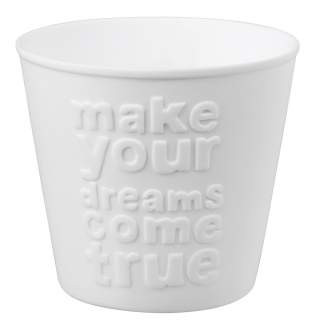"Typografielicht ""Make your dreams..."""