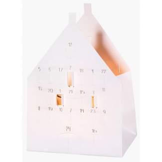 """Weihnachts Lichthaus Karte """"Adventskalender"""""""