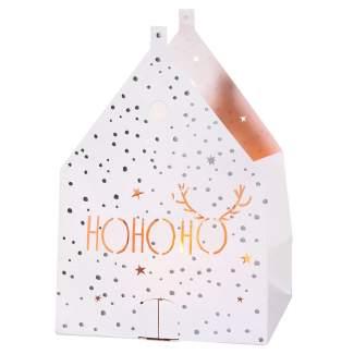 """Weihnachts Lichthaus Karte """"Ho Ho Ho"""""""