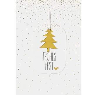 """Winterwald Karte """"Frohes Fest"""""""