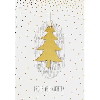 """Winterwald Karte """"Frohe Weihnachten"""""""