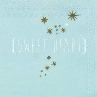 "Servietten ""Sweet Heart"""